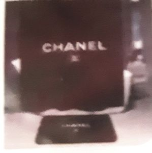 NWT CC CHANEL SHOWER CURTAIN (AUTH #'posted)